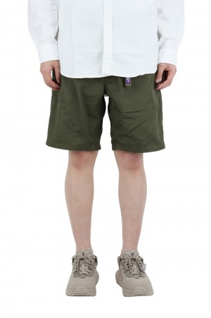 The North Face Purple Label - Men - Stretch Twill Shorts - Khaki (NT4102N)
