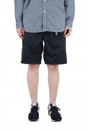 The North Face Purple Label - Men - Stretch Twill Shorts - Dark Navy (NT4102N)