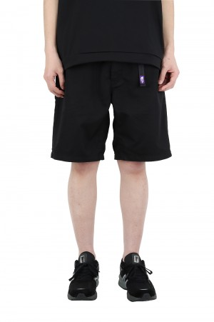 The North Face Purple Label - Men - Stretch Twill Shorts - Black (NT4102N)