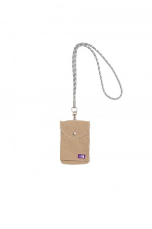 The North Face Purple Label - Men - Lounge Utility Case  - Beige (NN7104N)