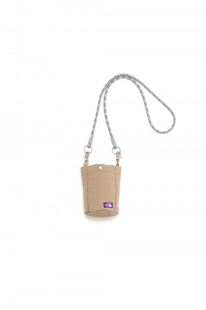 The North Face Purple Label - Men - Lounge Shoulder Pouch - Beige (NN7105N)