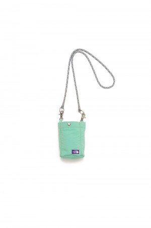 The North Face Purple Label - Men - Lounge Shoulder Pouch - Lime Green (NN7105N)