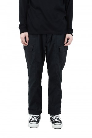 Wild Things BACKSATIN FIELD CARGO PANTS - BLACK (WT21007AD)