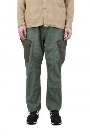 Wild Things BACKSATIN FIELD CARGO PANTS - OLIVE DRAB (WT21007AD)