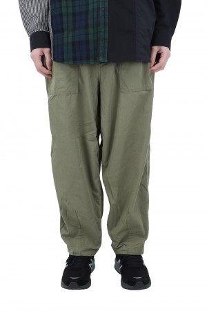 The North Face Purple Label - Men - Ripstop Wide Cropped Pants - Khaki (NT5064N)