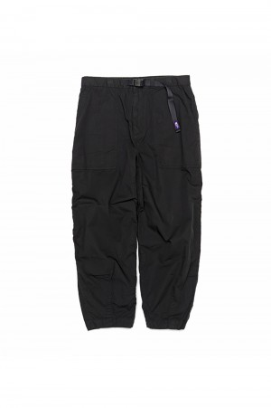 The North Face Purple Label - Men - Ripstop Wide Cropped Pants - Black (NT5064N)