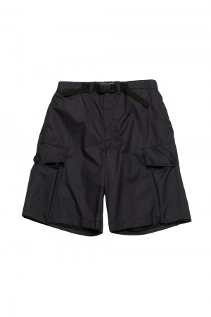 N.hoolywood BELT SHORTS-BLACK-(9211-CP09-011)