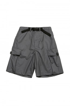 N.hoolywood BELT SHORTS-CHARCOAL-(9211-CP09-011)