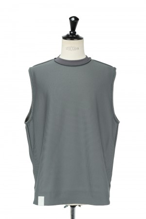 N.hoolywood TANK TOP-GRAY-(9211-CS19-024)