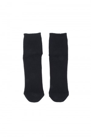 N.hoolywood SHORT SOCKS-BLACK-(TPES-AC12)