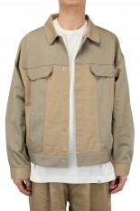 Magic Stick Dickies Edition 3rd Workers Jacket / Tonal Beige (20HL-MSDK-001)