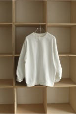Todayful Raglan Brush Sweat -WHITE(12110603)