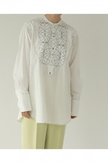 Todayful Quilting Dress Shirts -WHITE(12110413)