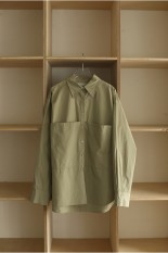 Todayful Taffeta Pocket Shirts -LIGHT GREEN(12110410)