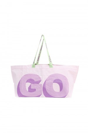 Golf Wang 3D LOGO TOTE by GOLF WANG / LAVENDER