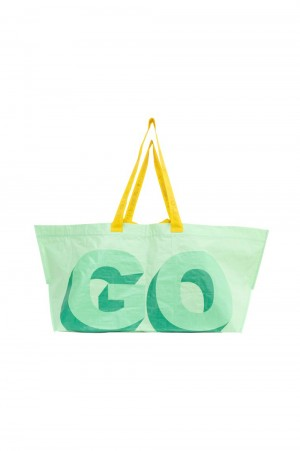 Golf Wang 3D LOGO TOTE by GOLF WANG / GREEN