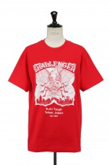Challenger FLY TEE -RED (CLG-TS 021-008)
