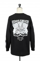 Challenger FLY L/S TEE -BLACK (CLG-TS 021-013)