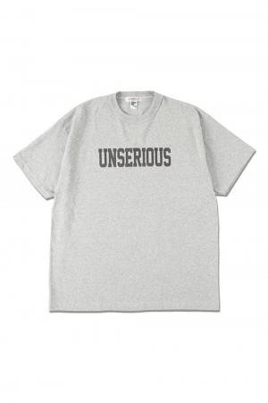 Standard California UNSERIOUS US ARMY LOGO T - GRAY