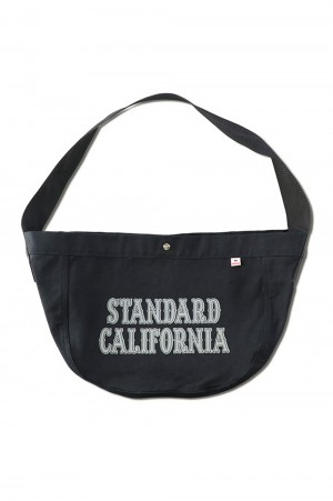 Standard California SD MADE IN USA NEWS PAPER BAG - BLACK