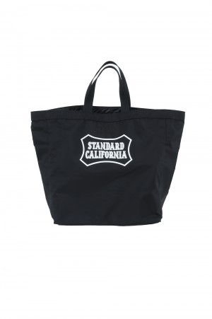 Standard California PORTER×SD PACKABLE UTILITY TOTE BAG - BLACK
