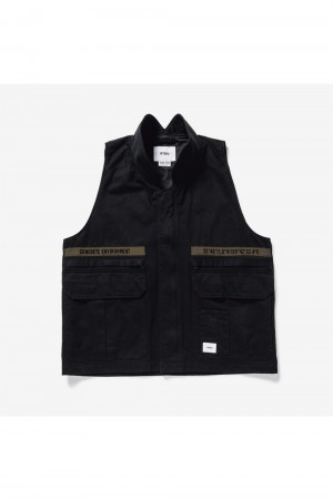 Wtaps REP / VEST / COTTON. TWILL (211BRDT-JKM03)