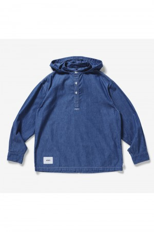 Wtaps FALCONER / LS / COTTON. DENIM (211BRDT-SHM05)