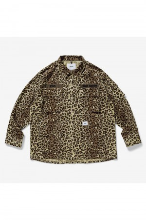Wtaps JUNGLE 01 / LS / COTTON. TWILL. CAMO (211WVDT-SHM02)