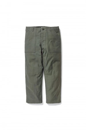 Wtaps WMILL-TROUSER 02 / TROUSERS / COTTON. SATIN (211BRDT-PTM01)