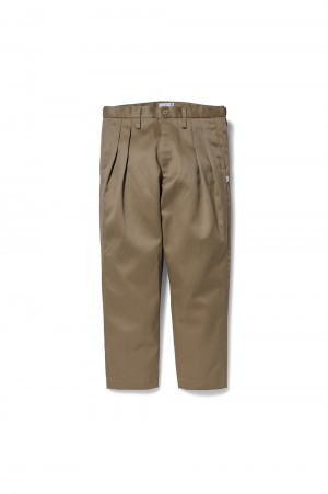 Wtaps TUCK 02 / TROUSERS / COTTON. TWILL (211TQDT-PTM02)