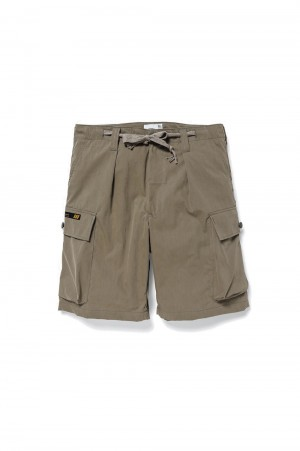 Wtaps JUNGLE COUNTRY / SHORTS / NYCO. TUSSAH (211WVDT-PTM05)