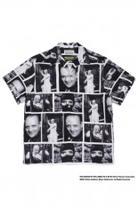 Wackomaria THE SILENCE OF THE LAMBS / S/S HAWAIIAN SHIRT ( TYPE-1 ) / WHITE (SOL-WM-HI01)