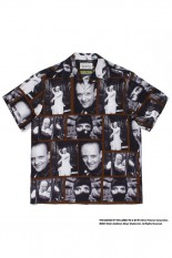 Wackomaria THE SILENCE OF THE LAMBS / S/S HAWAIIAN SHIRT ( TYPE-1 ) / BROWN (SOL-WM-HI01)