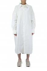 Shinzone OX WINDY SHIRT DRESS -WHITE (21MMSOP06)
