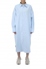 Shinzone OX WINDY SHIRT DRESS - BLUE(21MMSOP06)