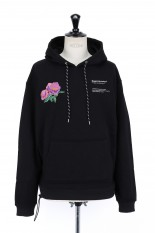 LEGENDA Just the Beginning Rose Hoodie -BLACK(LEC1002)