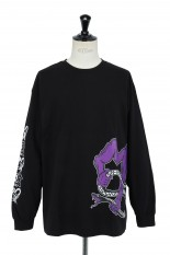 Masses T-SHIRTS L/S  SNAKE2 / BLACK
