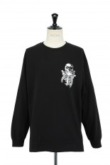 Masses T-SHIRTS L/S SKULL  / BLACK