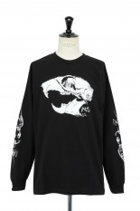 Masses T-SHIRTS L/S SKULL RAT  / BLACK