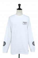 Masses T-SHIRTS L/S M&M SP3 / WHITE