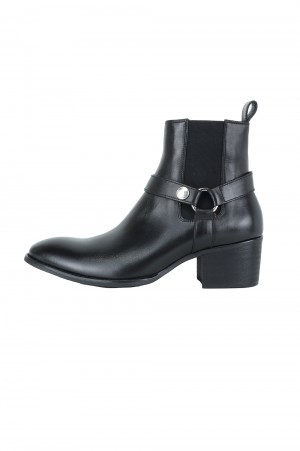 Vanquish COW LEATHER SIDE GORE RING HEEL BOOTS (VSH237)