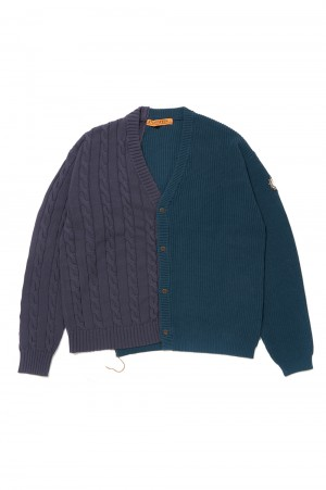Studio Seven Docking Knit Cardigan/Navy(70864397)