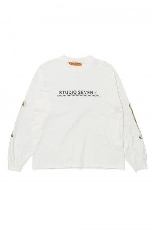 Studio Seven BONE LS Tee/White(70864402)