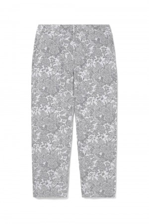 Thisisneverthat Floral Jacquard Pant / Grey(TN21SPA018)