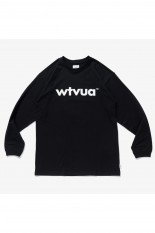 Wtaps 【SPOT ITEM】 WTVUA / SCREEN LS TEE - BLACK (211ATDT-LT01S)