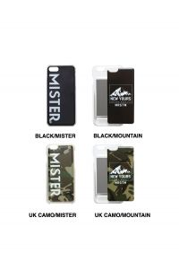 Mr.Gentleman IC CARD iPhone CASE - BLACK/MR - (MGK-AC33)