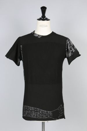 Black Fist PATCHWORK TEE / B (BF_ S17_T07)