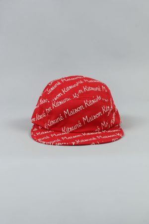 Maison Kitsune -Men- CAP 5P ALL OVER MAISON KITSUNE (KUU8756)