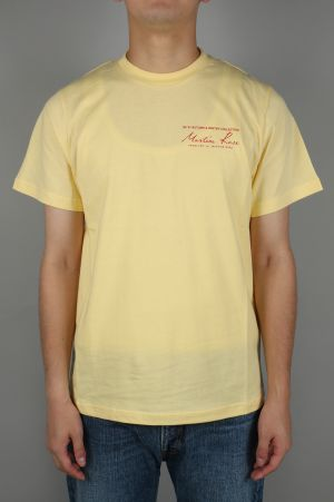 Martine Rose CLASSIC SS T-SHIRT / LEMON(MRAW17506)