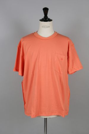 Mr.Completely SHORT SLEEVE POCKET TEE / SALMON(MRCSS17-67)
